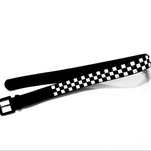 Vans men's/women's studded checkerboard belt